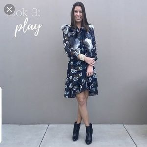 CAbi #3460 Pirouette Floating Flower Dress